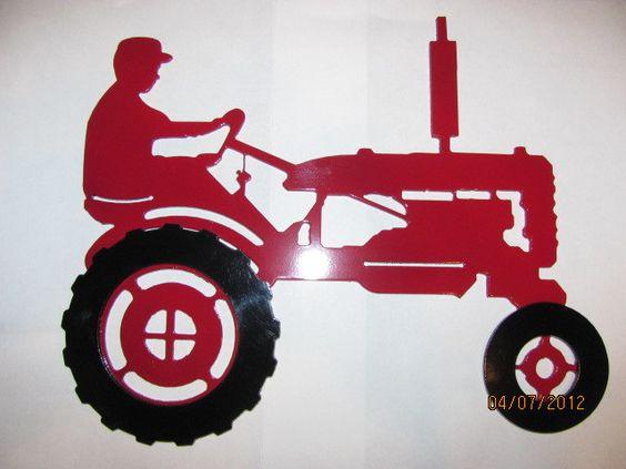 Farmall Or Johndeere B Tractor Plasma Cut Pinterest