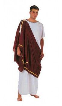Disfraz de Ciudadano Griego para hombre