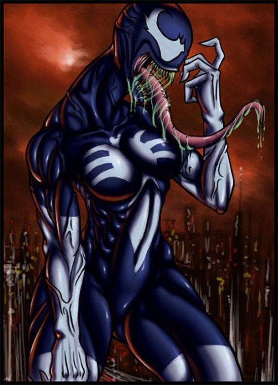 Venom...with boobs?: