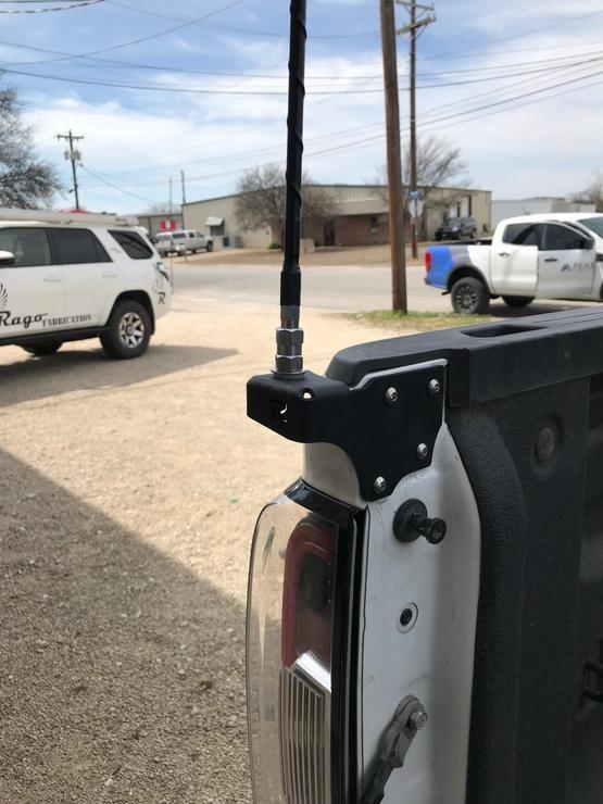 Rago Fabrication Chevy Colorado Cb Antenna Mount In 2020 Chevy Colorado Jacked Up Trucks Chevy