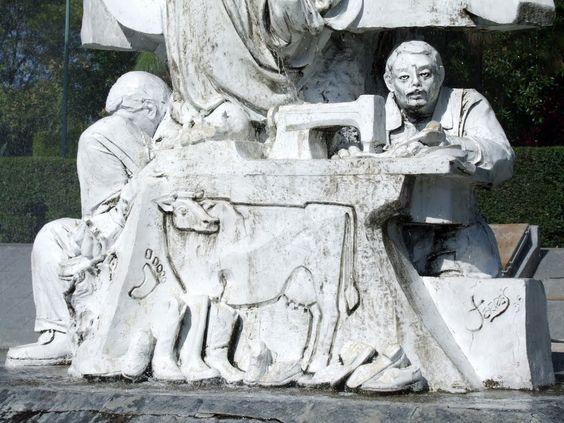 Detalle de la Industria del Calzado en León