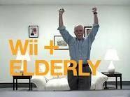 Wii + Elderly!  :) www.cgmediations.com
