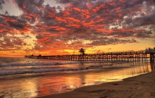Breathtaking sunset♥