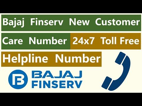 Bajaj Finserv New Customer Care Number New 24x7 Toll Free Helpline Contact Number Of Bajaj Finance Youtube In 2020 Finance Customer Care Care