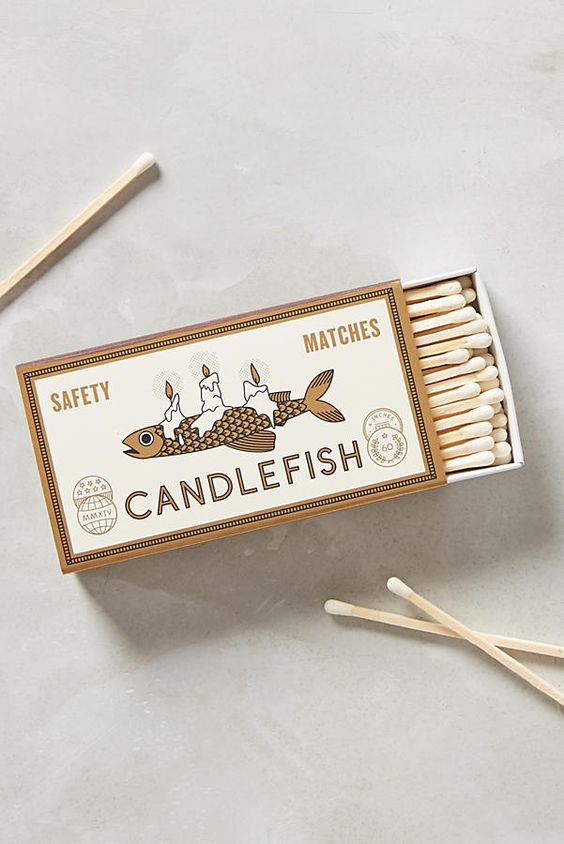 Candlefish Matches