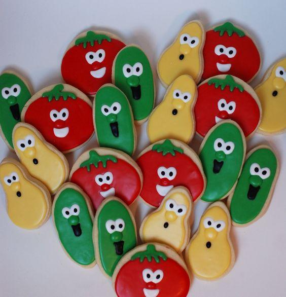 allison's cookies: :: Veggie Tales Cookies ::