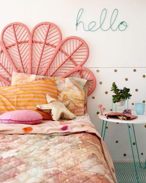 Girls bedroom Ideas - more kids room ideas on the blog