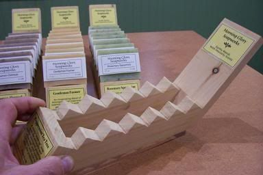 The Deliberate Agrarian: Make Your Own Whizbang Soap Display Stands