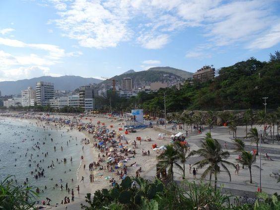 Ipanema / Copacabana beach in Rio de Janeiro.