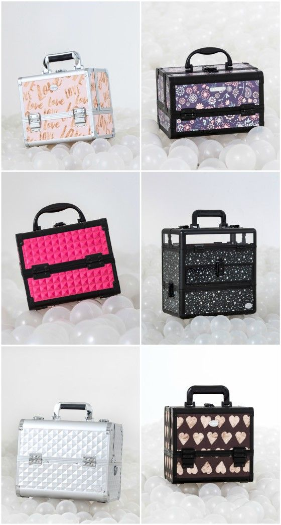 10 Cheap Professional Cosmetic Cases For Girls Who Love Makeup Love Makeup Cosmetic Case Rolling Makeup Case