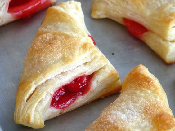 Cherry Turnovers the Old Fashioned Way