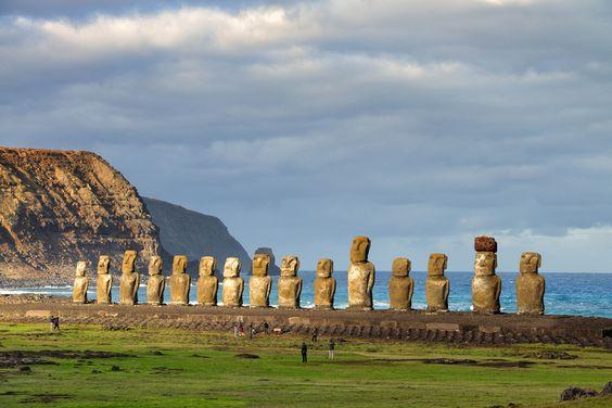 Île de Pâques, Chili. | 26 paysages d'Amérique Latine à couper le souffle