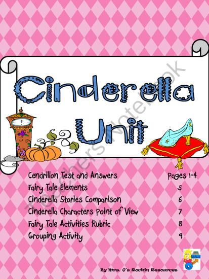 comparing and contrast cinderella Description while doing this lesson, students will be able to remember, compare, and contrast two different cinderella stories of their choice.