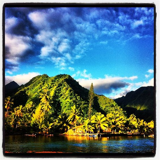"Kelly Slater teases on Instagram, ""Tahiti is occasionally sorta pretty."""