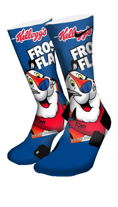 Frosted Flakes Custom Elite Socks  Why but at the same time i need these