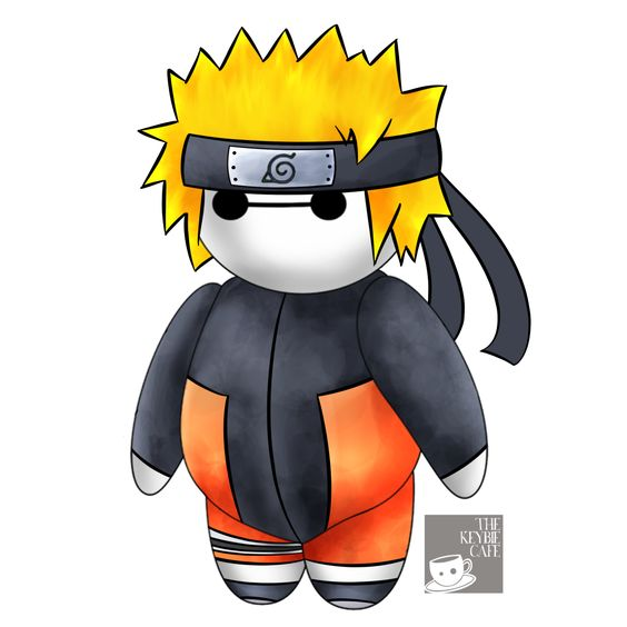 #CosplayerBaymax: Baymax Reimagined as Popular Anime Characters - Naruto Uzumaki