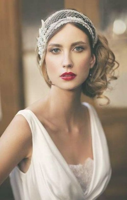 50 Ideas Art Deco Wedding Hairstyles Roaring 20s Wedding Hairstyles Art Wedding Makeup Vintage Vintage Wedding Hair Wedding Hairstyles For Long Hair