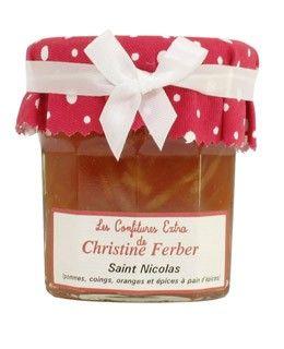 Confiture de Saint Nicolas (pommes, coings, oranges et épices à pain d'épices) - Christine Ferber