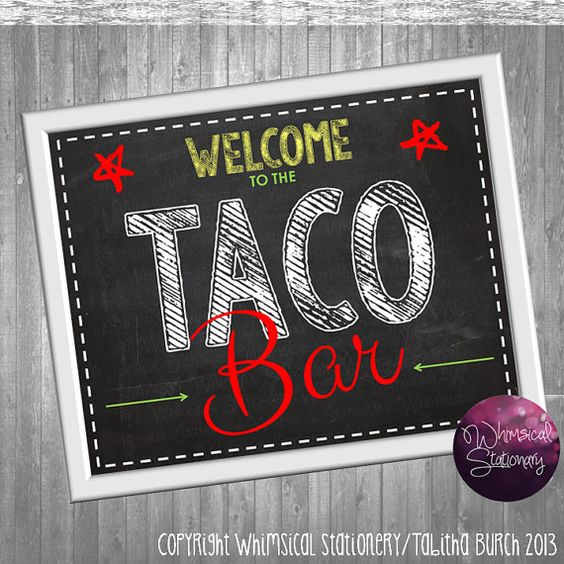 Stove, Tacos And Taco Bar On Pinterest