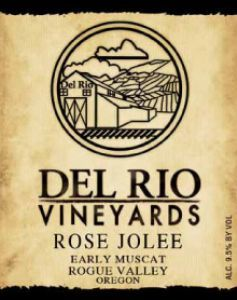 Rose Jolee from Del Rio in Gold Hill is my favorite local wine... light, fruity, slightly effervescent