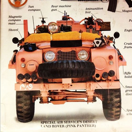 Pink Panthers, Panthers And Land Rovers On Pinterest