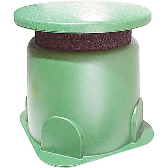 5 1/4 in. 80-Watt Outdoor Mini In-Ground Speaker, Green