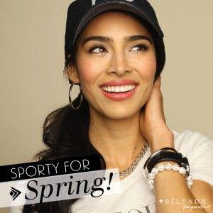 4 Ways to Glam Up your #Sporty Style! | Silpada Blog #WomensFashion: Breathe Bling, Spring Silpada, Silpada Style, Sporty Style, My Silpada Jewelry, Style Silpada, Spring Bling, Silver Jewelry