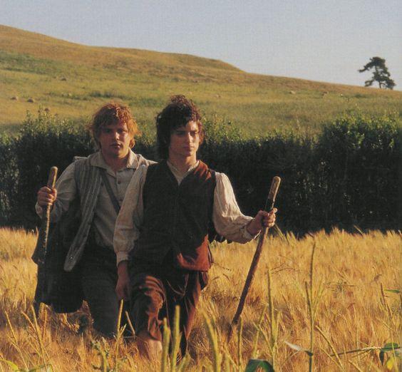 Sam and Frodo.