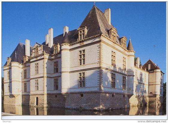 Bourgogne chateau - Delcampe.net