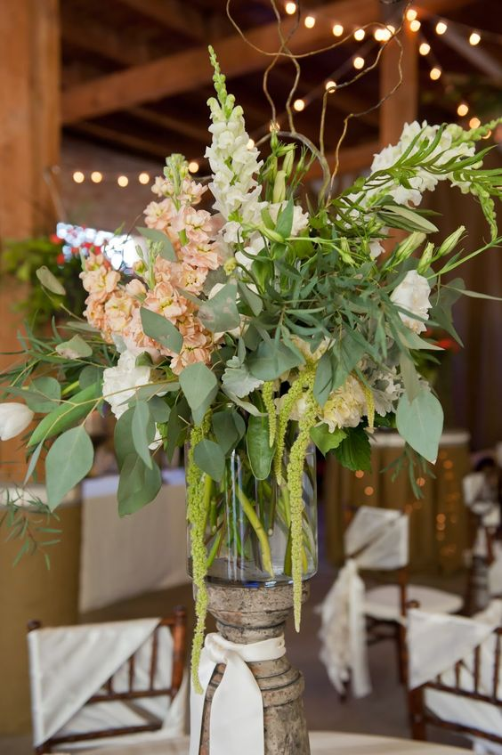 Centerpiece by Blooms and Blossoms