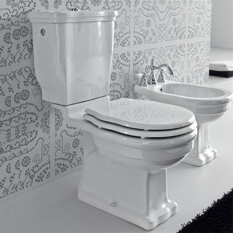 Hermitage toilet suite by Parisi. Hermitage toilet suite by Parisi   Traditional Vintage Bathroom