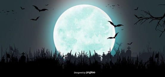 Fundo De Silhueta Escura Estilo Halloween Fundos Do Dia Das Bruxas Fundo Dia Das Maes Dia Das Bruxas