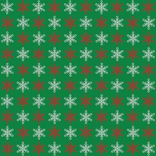 Red White Snowflakes Red Green Christmas Green Christmas Christmas Wallpaper