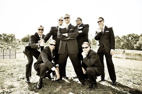 groom with groomsmen wedding photography poses | Recent Photos The Commons Getty Collection Galleries World Map App ...