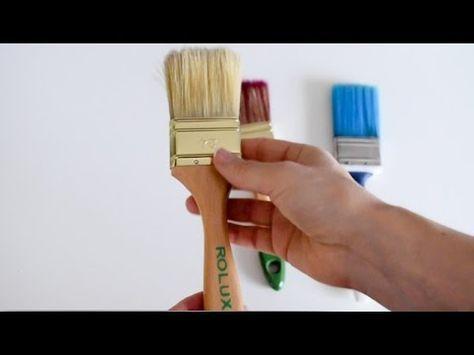 Todas Las Claves Para Pintar Con Brocha Sin Dejar Marcas Como Pintar Madera Como Pintar Pintar