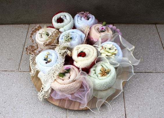 Cloth Diapers Cup-Cakes / Tortine (cup-cakes) con pannolini di stoffa - by Francesca Gentile