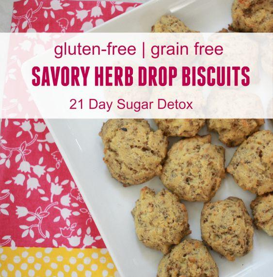 healthy alternative, this gluten-free Savory Herb Drop Biscuits ...
