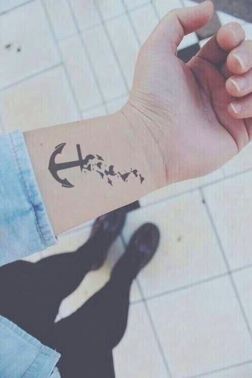 #ancla #tatuaje #cute