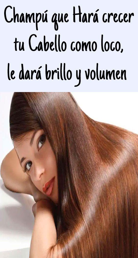 Champú Que Hará Crecer Tu Cabello Como Loco Le Dará Brillo Y Volumen Shampoo Hair Beauty Beauty