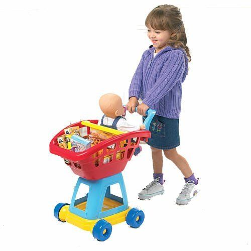 Just Like Home Toy Restaurant Menu : Just like home piece deluxe shopping cart by rj quality