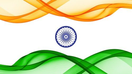 Indian Flag Art For Independence Day Celebration Flag Art