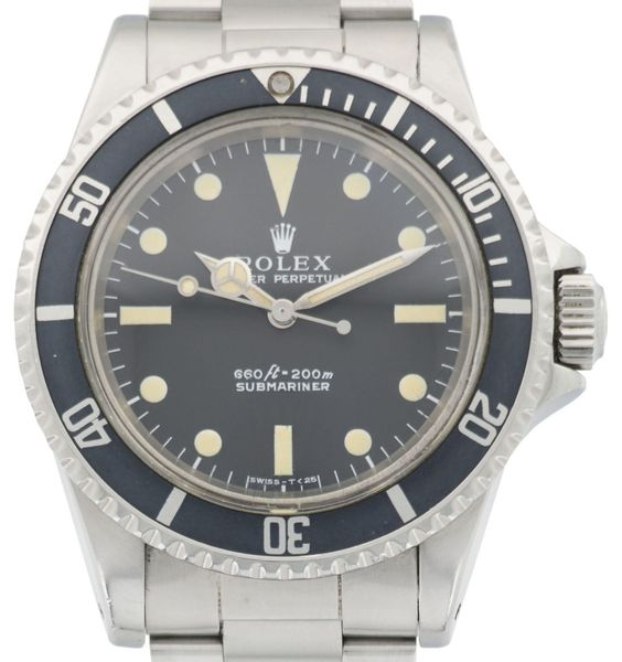 Rolex Submariner, ref. 5513 w/ Box & Paper for sale by a trusted dealer on…
