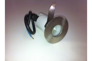 Fiorentino LED NO3 White 1 Light Exterior LED Inground Light