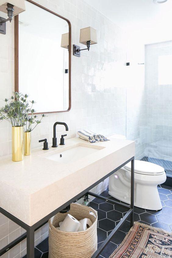 西海岸 カリフォルニア インテリア トイレ コーディネート例
