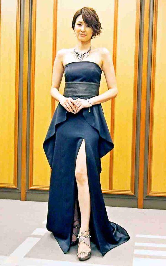 足がきれいな吉瀬美智子