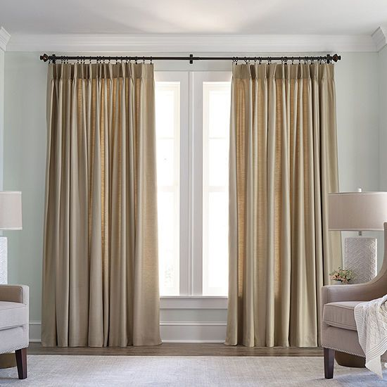 Jcpenney Home Thermal Pinch Pleat Curtain Panel Jcpenney Pinch