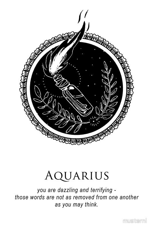 Aquarius - Shitty Horoscopes Book XI: Illuminate