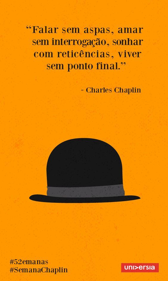 REGBIT1: Aplique os ensinamentos de Charles Chaplin no seu ...: