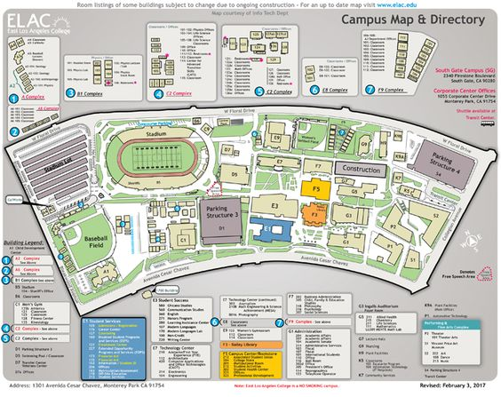 Campus Map Community Colleges Pinterest Community college