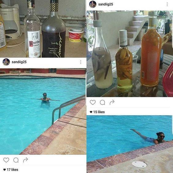 From @sandiig26 #tbt #summer #puertorico2015 #poolside #drinkss #bottemsup #swimsuit Experience the beauty follow us. #puertorico #puertoricodoesitbetter #luxurytravel #luxurytours #luxurytraveler #tropicalluxury #luxuryparadise #puertoricobound #puertoricolife #puertoricolohacemejor #puertoricoeats #puertoricovacation #prvacationclub #instagood #follow #photooftheday #beautiful #happy #love #picoftheday #summer